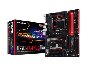 Gigabyte H270 Gaming 3 Intel Motherboard