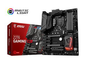 MSI Z270 Gaming M5 Intel Motherboard