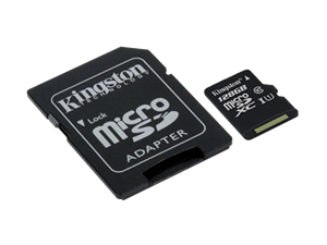 128GB Kingston Micro SDXC UHS-I Class 10
