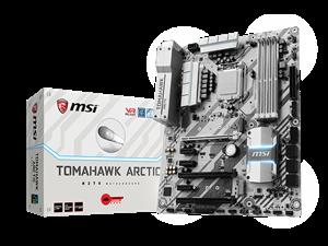 MSI H270 Tomahawk Arctic Intel Motherboard