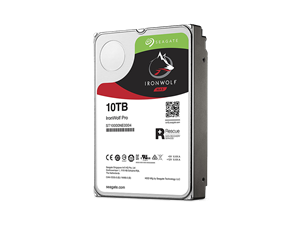 "Seagate 10TB Ironwolf Pro Enterprise 3.5"" NAS Hard Drive + 2 Years Data Recovery"