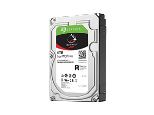 "Seagate 6TB Ironwolf Pro Enterprise 3.5"" NAS Hard Drive + 2 Years Data Recovery"