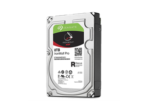 "Seagate 8TB Ironwolf Pro Enterprise 3.5"" NAS Hard Drive + 2 Years Data Recovery"