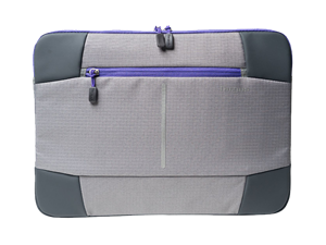 "Targus 15.6"" Bex II Laptop Sleeve - Grey/Purple"