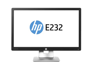 "HP EliteDisplay E232 23"" Full HD IPS LED Monitor"