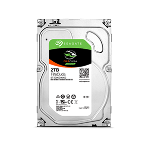 "Seagate 2TB Firecuda 3.5"" Internal SSHD Hybrid Hard Drive - ST2000DX002"