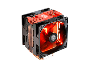 Cooler Master Hyper 212X Red LED Turbo Universal CPU Cooler - Red Top Cover