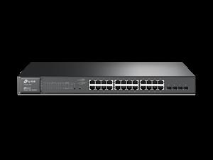 TP-Link T1600G-28PS 24 Port Gigabit PoE 4x Combo SFP 180W Smart Swtich