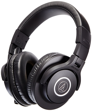 Audio-Technica ATH-M40X Professional Studio Headphones