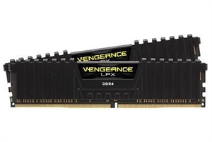 Corsair Vengeance 32GB (2x16GB) DDR4 2400Mhz RAM - Black