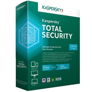 Kaspersky Total Security 3-PC 1-Year License