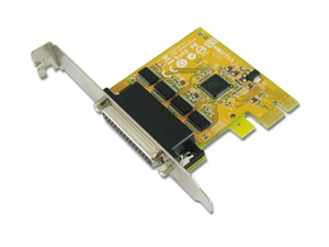 Sunix SER6456A PCIE 4-Port Serial RS-232 Card