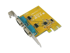 Sunix SER6437A PCIE 2-Port Serial RS-232 Card
