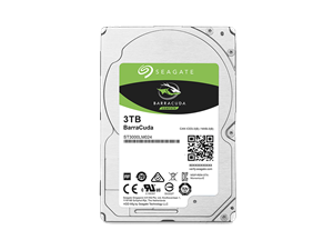 "Seagate Barracuda 3TB 2.5"" Notebook Hard Drive"