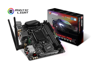 MSI Z270I Gaming Pro Carbon AC Intel Gaming Motherboard