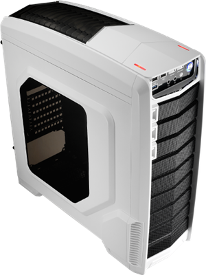 Aerocool GT-A Mid Tower Case - White