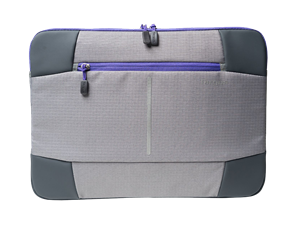 "Targus 14"" Bex II Laptop Sleeve - Grey/Purple"