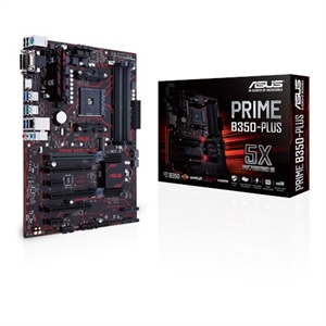 ASUS Prime B350-Plus AM4 ATX Motherboard