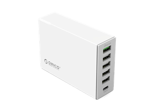 Orico 6 Port QuickCharge 2.0 Type-C Desktop Charger