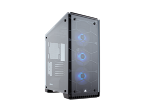 Corsair 570X Crystal Series RGB Mid Tower Case with Tempered Glass