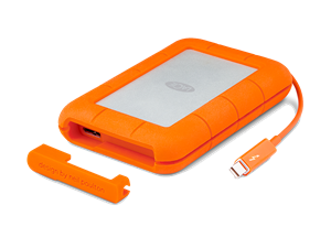 "LaCie 256GB Rugged 2.5"" Thunderbolt & USB3.0 Portable SSD"