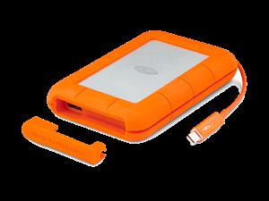 "LaCie 256GB Rugged 2.5"" Thunderbolt & USB3.0 Portable SSD"