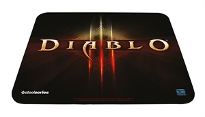 SteelSeries QCK Diablo III Logo Edition Cloth Mouse Pad