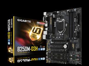 Gigabyte B250M-D3H Intel Motherboard