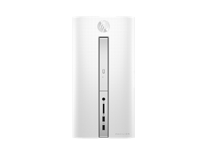 HP Pavilion 510-p056a Desktop - Blizzard White