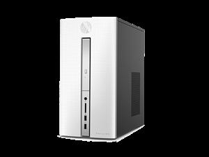 HP Pavilion 510-p056a Desktop - Blizzard White