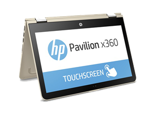 "HP Pavilion x360 13-U167TU 13.3"" Full HD Touch Intel Core i7 Convertible Laptop - Gold"