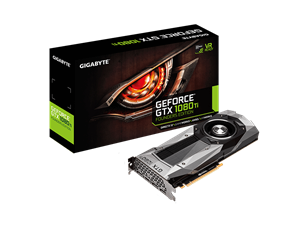 Gigabyte GeForce GTX 1080Ti Founders Edition 11GB Graphics Card