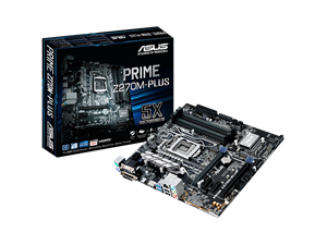 ASUS Prime Z270M Plus Intel Motherboard