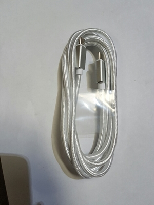 Goldwire 2m Type C to Type C 3.0 Cable - Silver