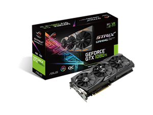 ASUS ROG Strix GeForce GTX 1080Ti OC 11GB Graphics Card