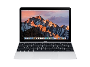 "Apple MacBook 12"" Intel Core m3 1.1GHz 256GB - Silver"
