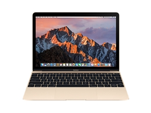 "Apple MacBook 12"" Intel Core m3 1.1GHz 256GB - Gold"