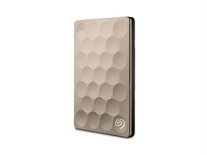 Seagate 1TB BackUp Plus Ultra Slim - Gold