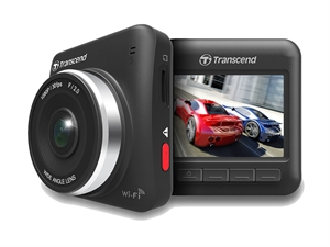 Transcend DrivePro 200 Dash Cam - 16GB microSD Card and Mount included