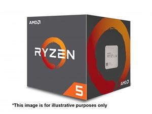 AMD Ryzen 5 1400 4 Core AM4 CPU (Wraith Stealth Cooler)