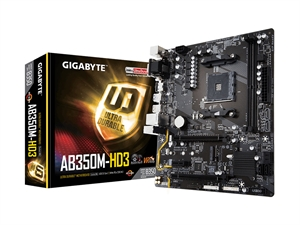 Gigabyte AB350M-HD3 AM4 mATX Motherboard