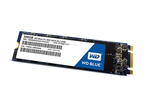 Western Digital Blue 500GB M.2 2280 SSD