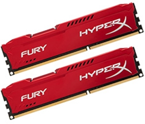 Kingston HyperX FURY 16GB (2x 8GB) DDR4 2133MHz - Red