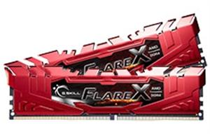 16GB G.Skill Flare-X DDR4 (2x8GB) Ryzen RAM - Red