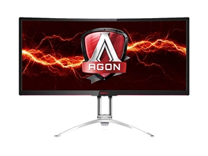"AOC AGON 35"" Ultra Wide QHD 100Hz Curved G-Sync Gaming Monitor"