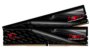 16GB G.Skill Fortis F4-2400Mhz (2x8GB) Ryzen RAM - Black