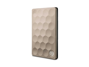 Seagate 2TB BackUp Plus Ultra Slim - Gold