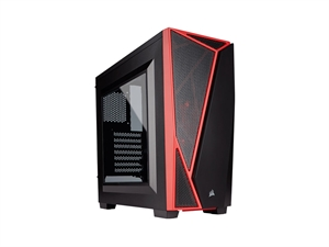 Corsair Carbide Spec-04 Mid Tower Gaming Case - Black/Red
