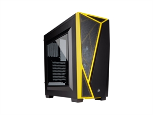 Corsair Carbide Spec-04 Mid Tower Gaming Case - Black/Yellow