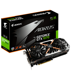 Gigabyte Aorus GTX 1070 8GB Graphics Card